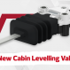 New Cabin Levelling Valves